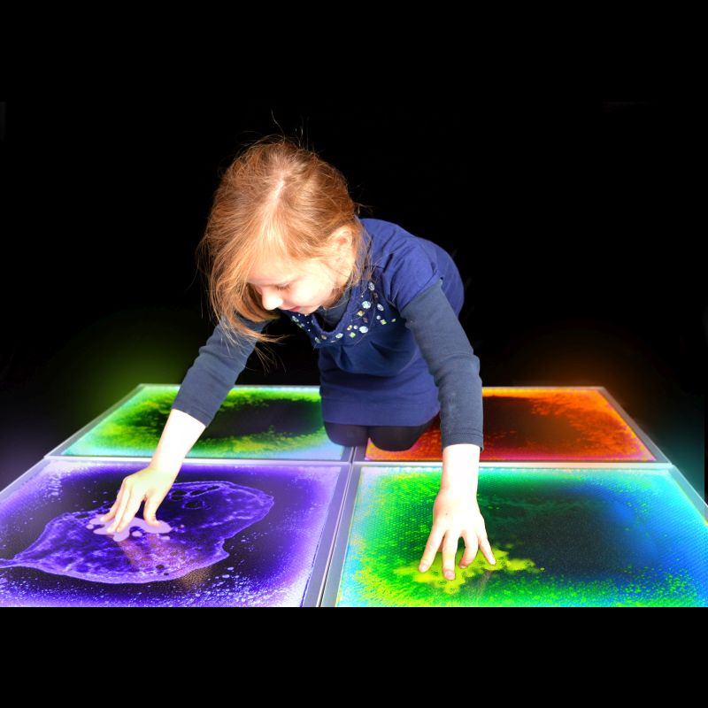 PlayLearn Sensory Light-Up Floor Tile